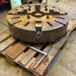 32 inch Large 4 jaw Welding Chuck 6