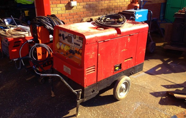 ArcGen 300amp Diesel Welder Generator for Hire