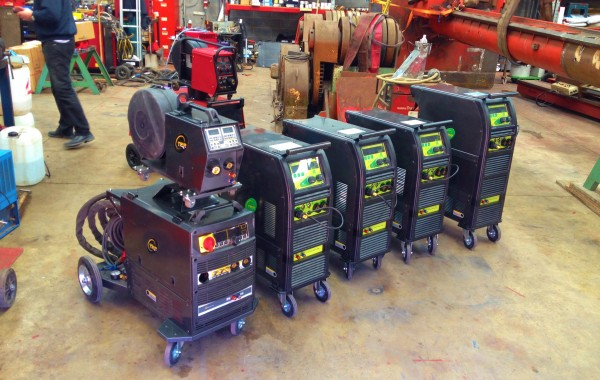 Brand New Water Cooled MIG and TIG Welders for Hire