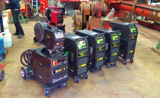Brand new MIG and TIG Welding Plant for Hire 1