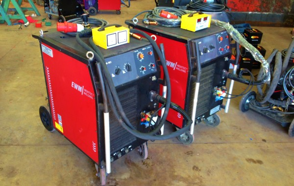 EWM Wega 401 Water Cooled MIG Welding Machine