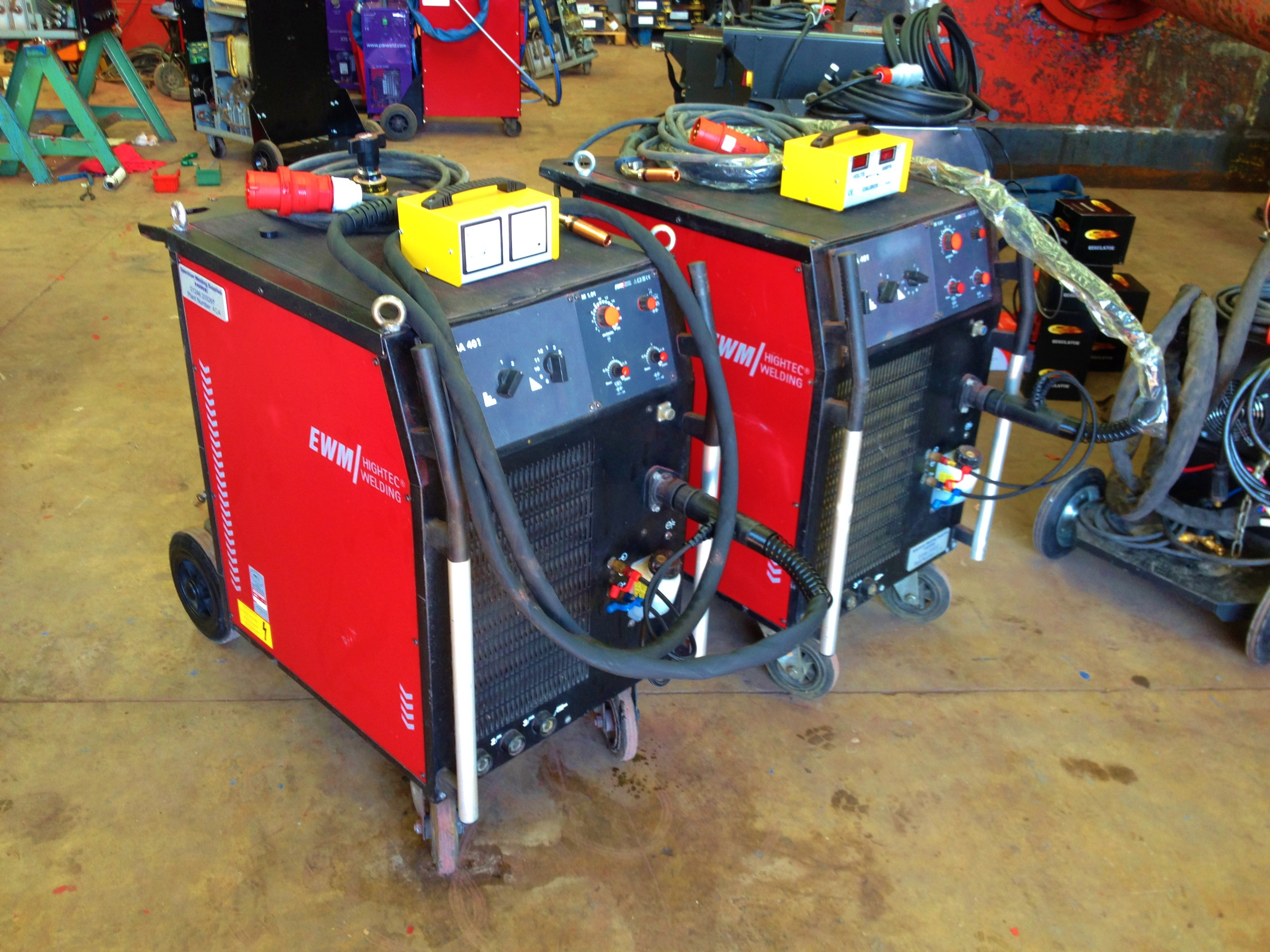 how to use a welding machine step by step