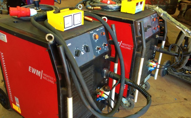 EWM Wega 401 Water Cooled MIG Welding Machine 2