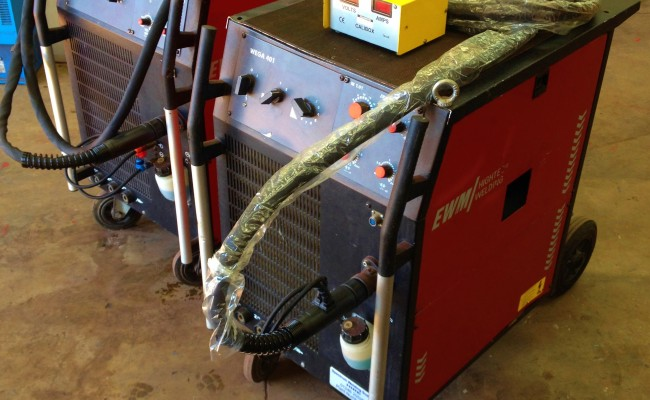 EWM Wega 401 Water Cooled MIG Welding Machine 3