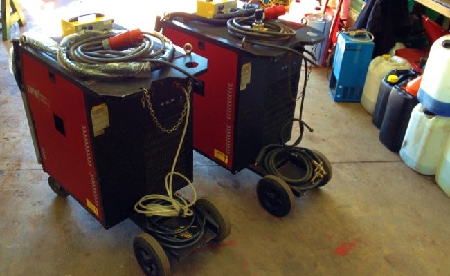 EWM Wega 401 Water Cooled MIG Welding Machine 6