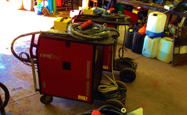 EWM Wega 401 Water Cooled MIG Welding Machine 7