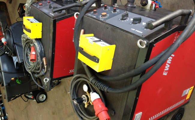 EWM Wega 401 Water Cooled MIG Welding Machine 8