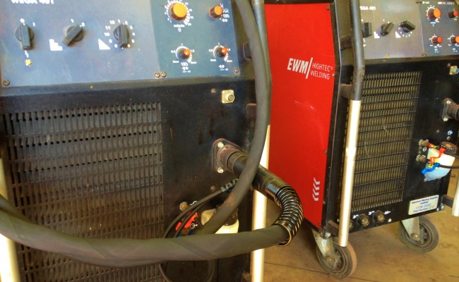 EWM Wega 401 Water Cooled MIG Welding Machine 9