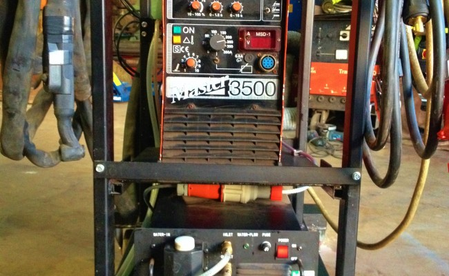 Kemppi Master 3500 Water Cooled TIG 7