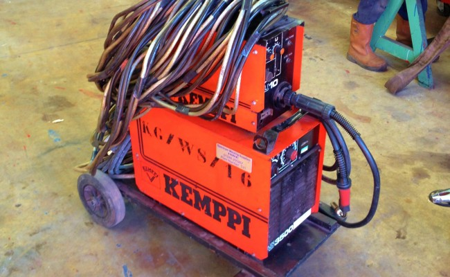 Kemppi PS3500 and FU10 Feeder Hire MIG 1