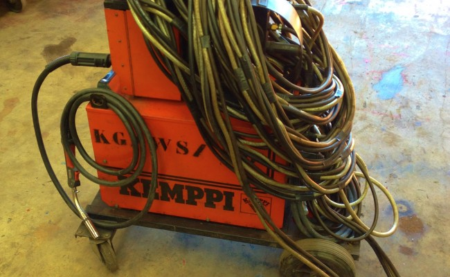 Kemppi PS3500 and FU10 Feeder Hire MIG 5