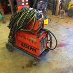 Kemppi PS3500 and FU10 Feeder Hire MIG 6