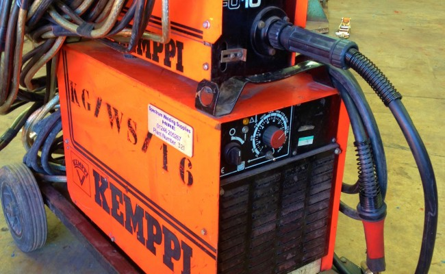 Kemppi PS3500 and FU10 Feeder Hire MIG 7