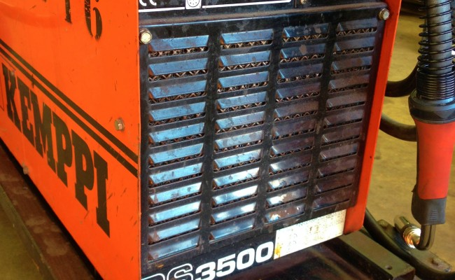 Kemppi PS3500 and FU10 Feeder Hire MIG 8