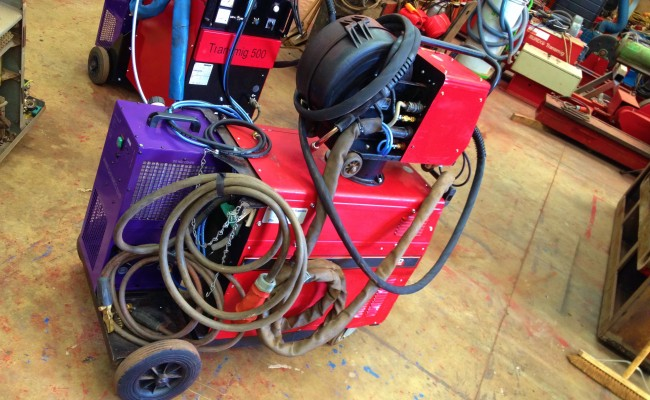 Lincoln Electric CV 405 I Water Cooled MIG Welding Machine 3