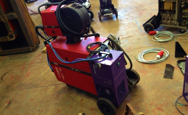 Lincoln Electric CV 405 I Water Cooled MIG Welding Machine 4