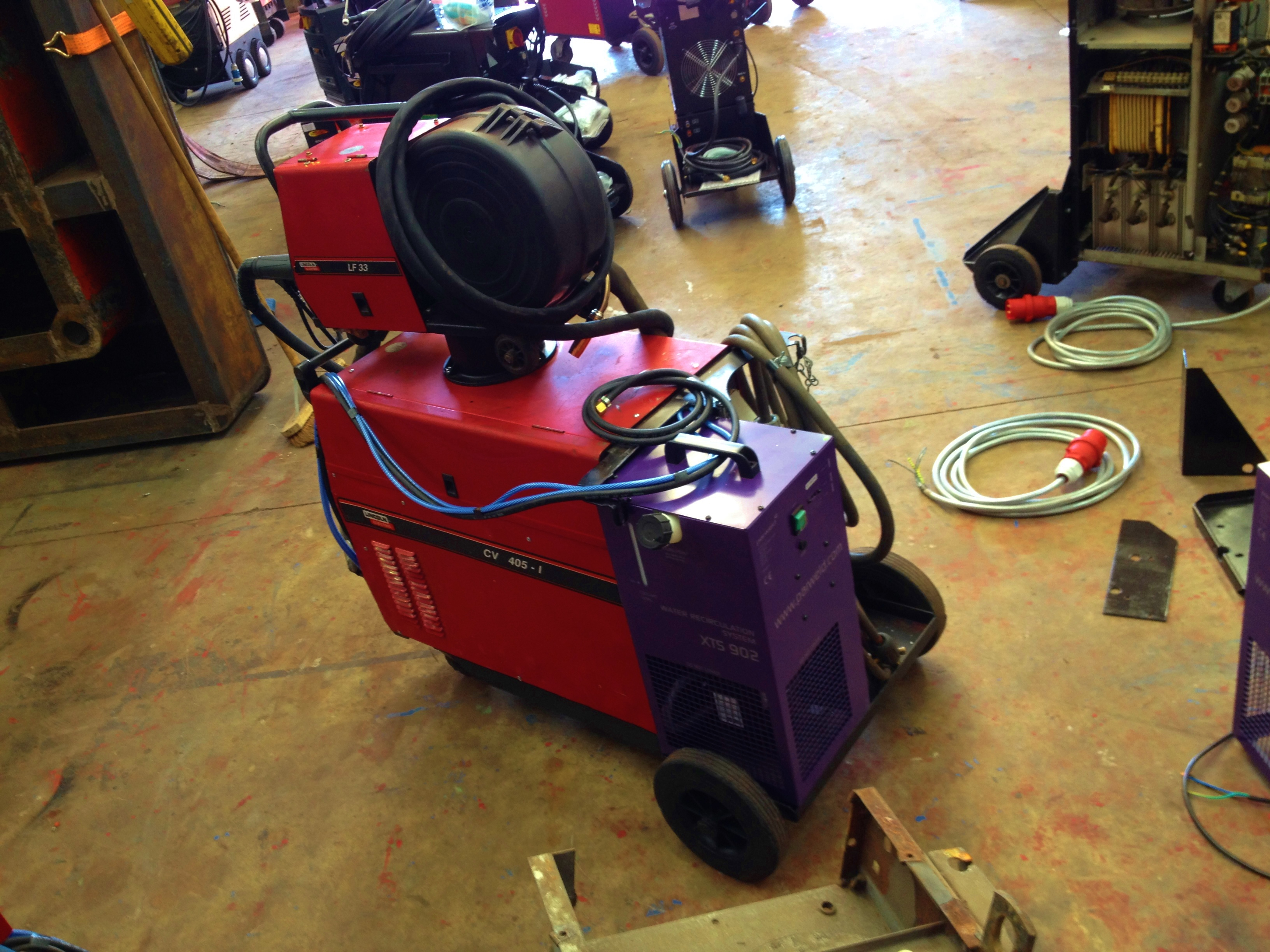 Lincoln Electric CV 405 I Water Cooled MIG Welding Machine With LF