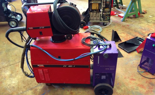 Lincoln Electric CV 405 I Water Cooled MIG Welding Machine 5