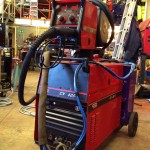 Lincoln Electric CV 405 I Water Cooled MIG Welding Machine 6