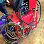 Lincoln Electric CV 405 I Water Cooled MIG Welding Machine 7
