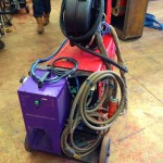 Lincoln Electric CV 405 I Water Cooled MIG Welding Machine 8