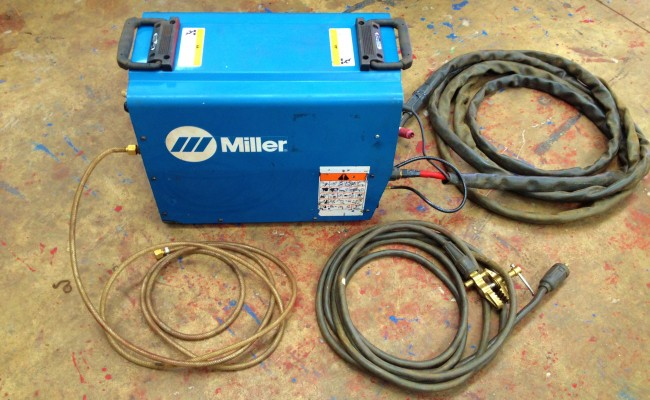 Miller Maxstar 300 DC Hire TIG Welding Machine 4