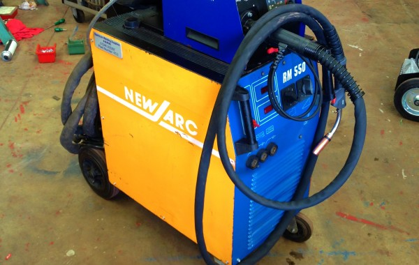 New Arc RM 550 Water Cooled MIG Welder