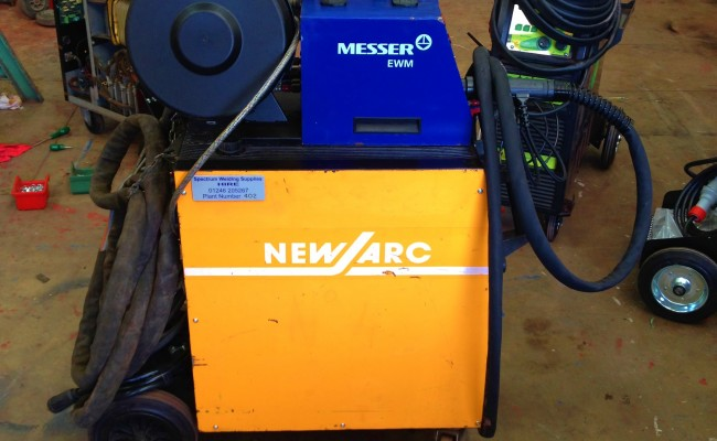 New Arc RM 550 Water Cooled MIG Welding Machine 3