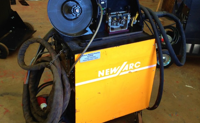 New Arc RM 550 Water Cooled MIG Welding Machine 6
