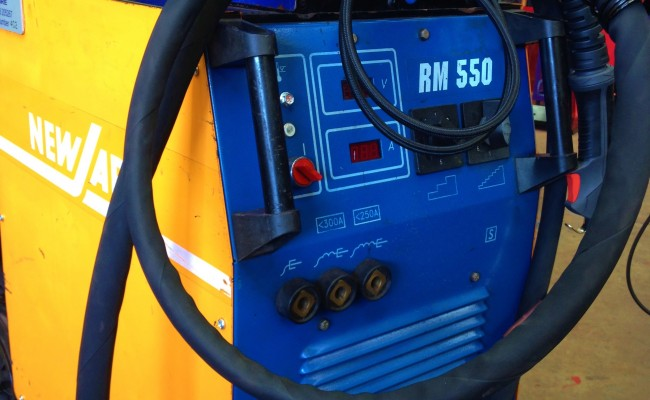 New Arc RM 550 Water Cooled MIG Welding Machine 7