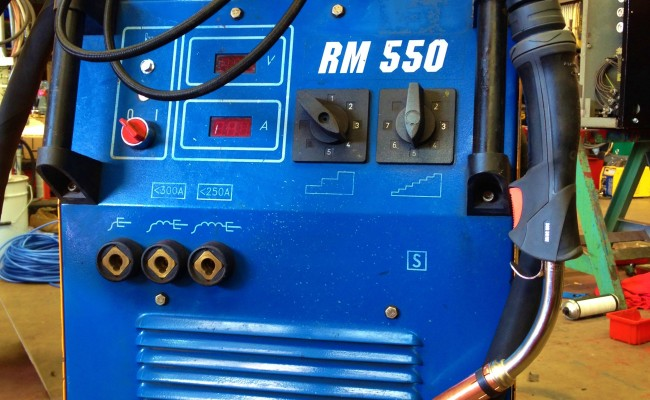 New Arc RM 550 Water Cooled MIG Welding Machine 8