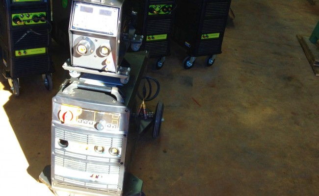 TER Multi 400 K Pulse Water Cooled MIG Welder 10