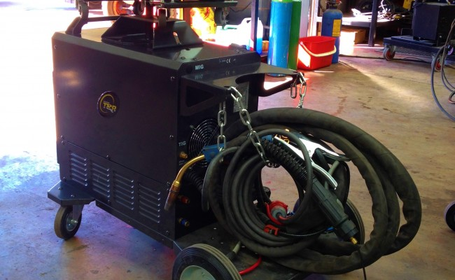 TER Multi 400 K Pulse Water Cooled MIG Welder 7