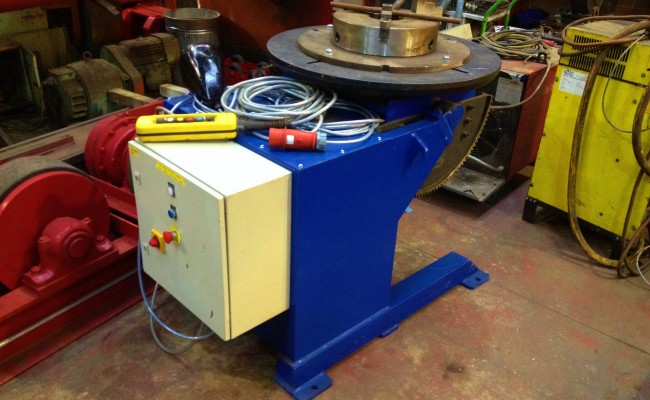 Used 1 tonne Welding Positioner for hire 1