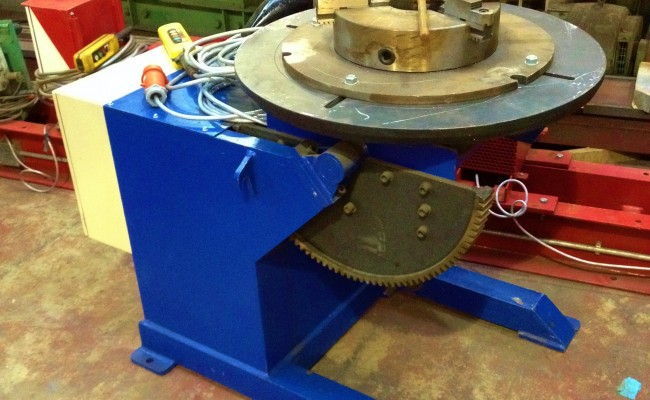 Used 1 tonne Welding Positioner for hire 3