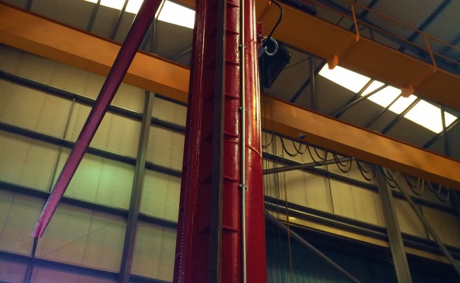 BODE 6 m x 6 m Column and Boom Welding Manipulator 12