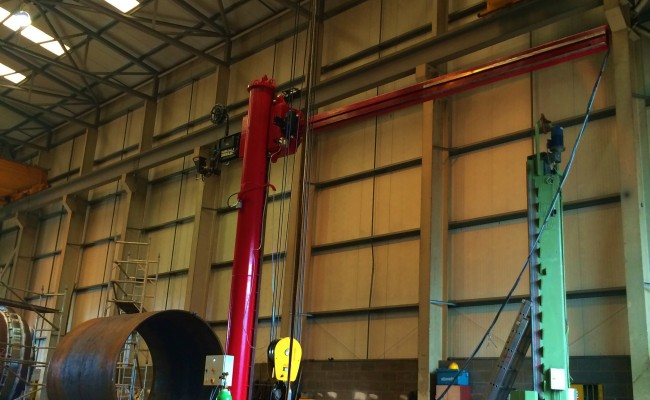 BODE 6 m x 6 m Column and Boom Welding Manipulator 19