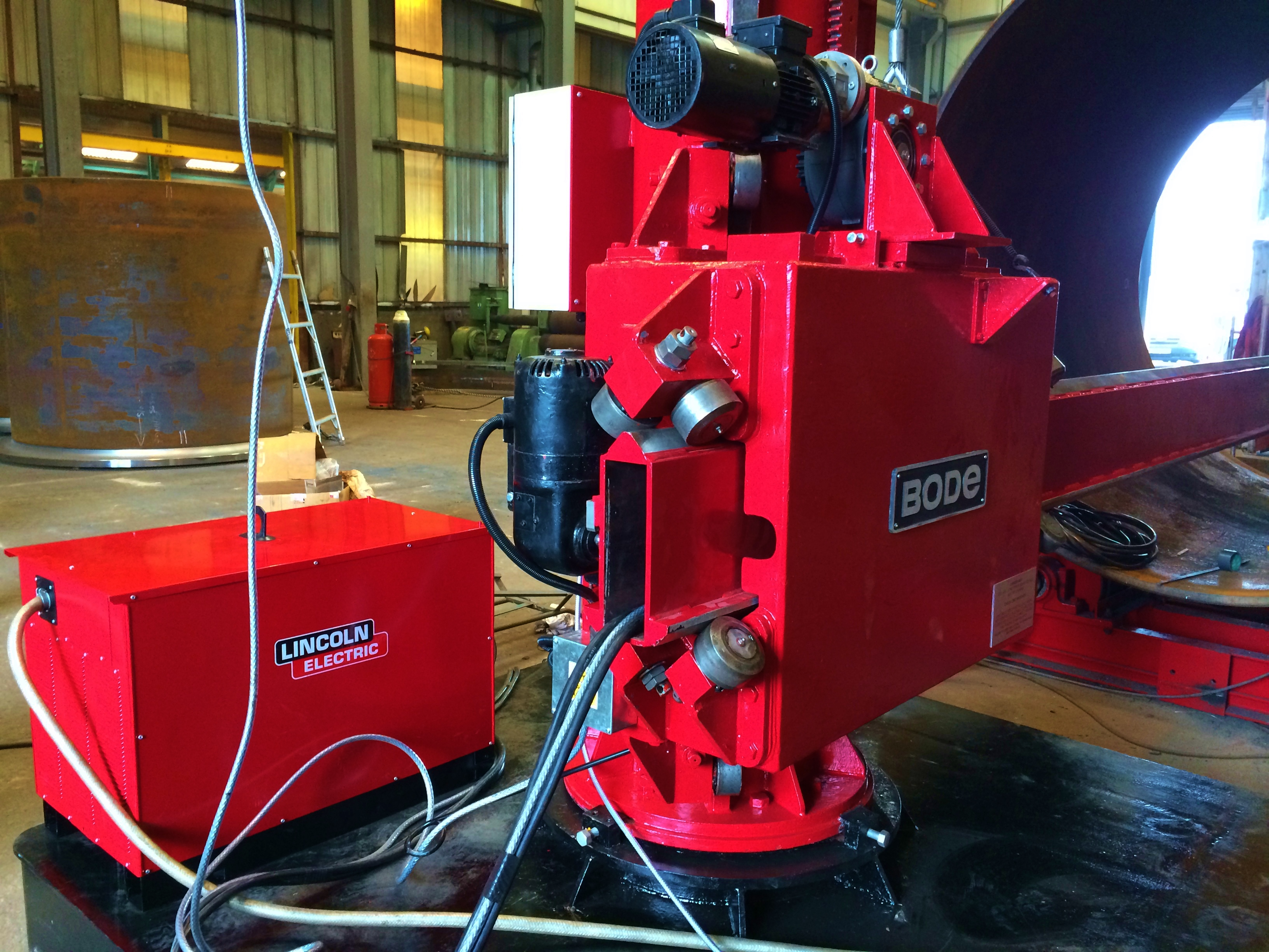 Bode 6 M X 6 M Column And Boom Welding Manipulator With