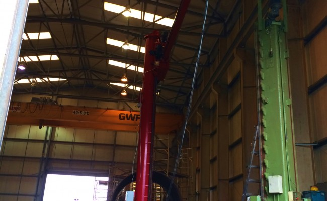 BODE 6 m x 6 m Column and Boom Welding Manipulator 22