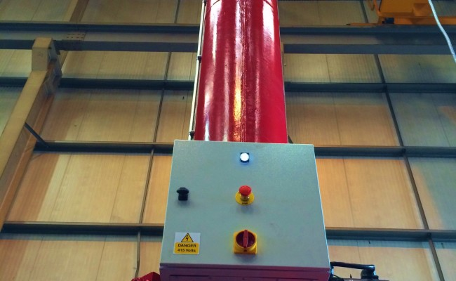 BODE 6 m x 6 m Column and Boom Welding Manipulator 4