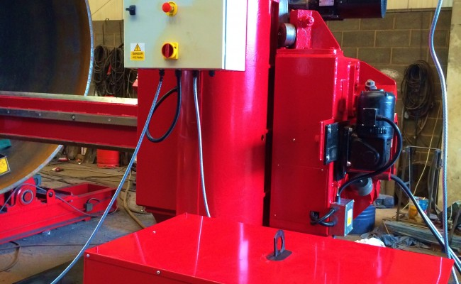 BODE 6 m x 6 m Column and Boom Welding Manipulator 7