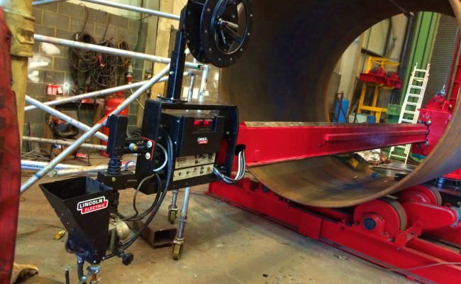 BODE 6 m x 6 m Column and Boom Welding Manipulator 9
