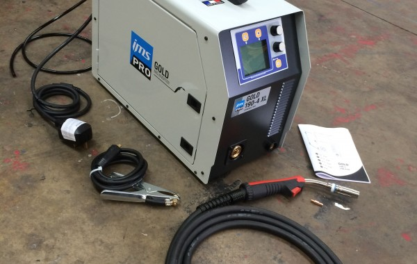 GYS Pearl 190.4 XL Synergic Single Phase Inverter MIG Welder
