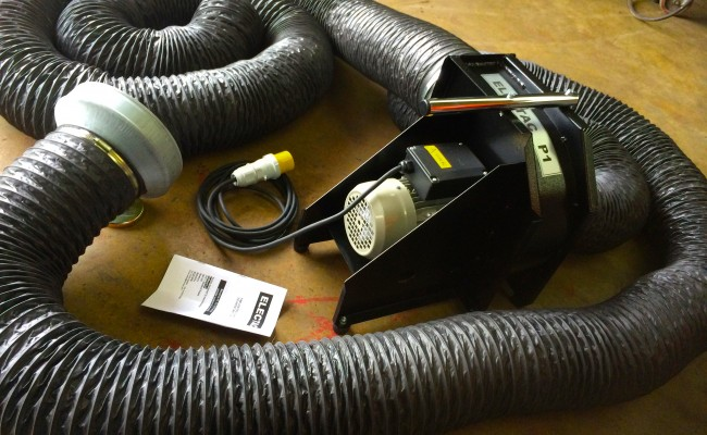 3 Portable Fume Extractor with 6m Hose