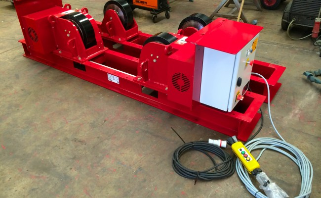 1 CR 20 Tonne Welding Rotators