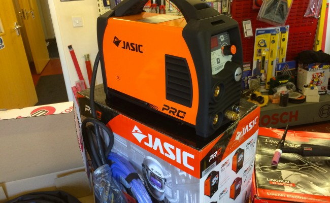 11. Jasic TIG 200P Inverter Welder