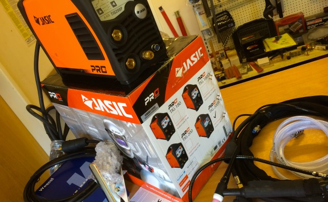 14. Jasic TIG 200P Inverter Welder