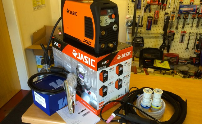 15. Jasic TIG 200P Inverter Welder