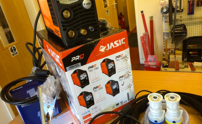 16. Jasic TIG 200P Inverter Welder
