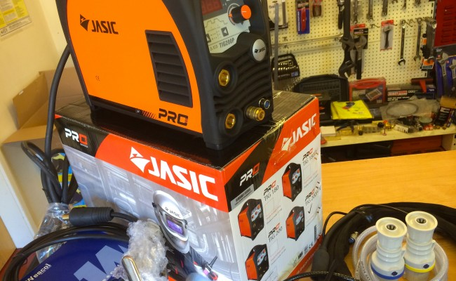 17. Jasic TIG 200P Inverter Welder